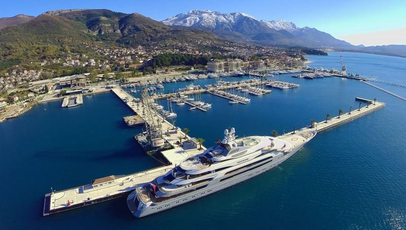 porto montenegro superyacht