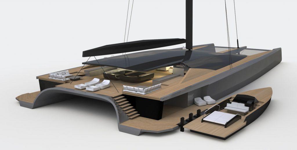 Blackcat catamaran