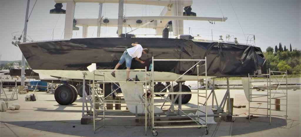 Luca Design boat wrapping