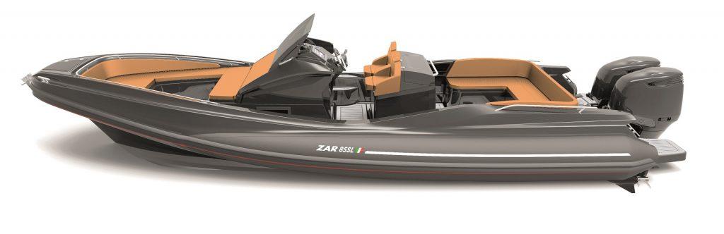 ZAR 85SL, Zar Formenti tenders and ribs