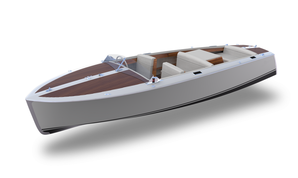 bruce 22 canadian electric boat
