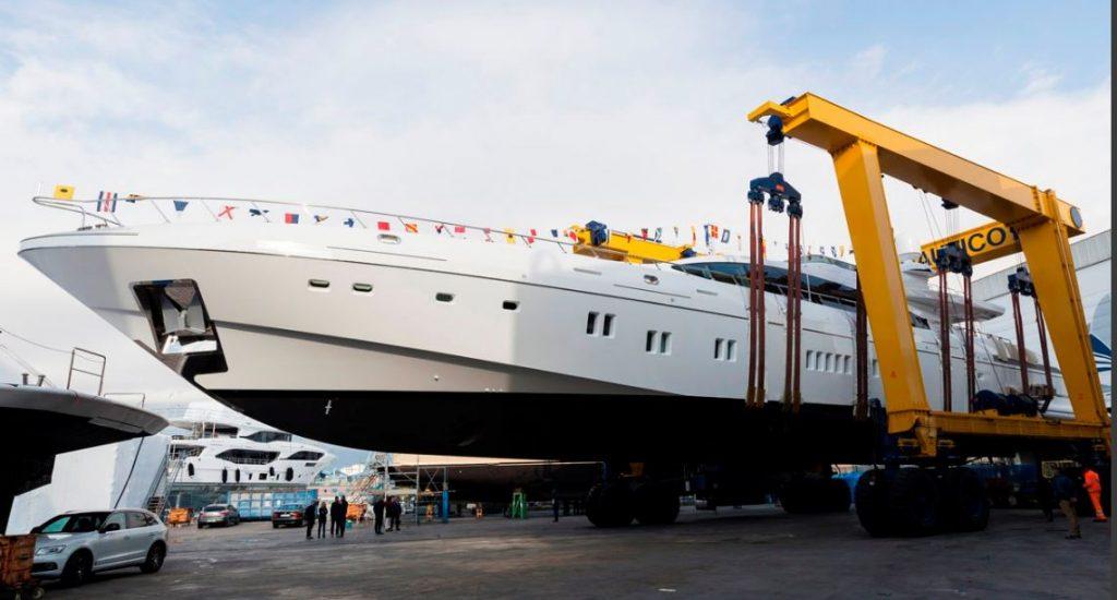 Launch of Mangusta 165 E Overmarine