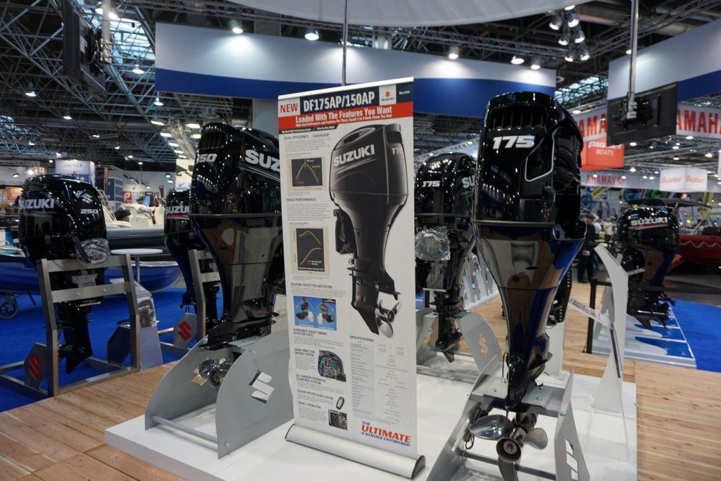 Suzuki Marine Df 150 and 175 HP Dusseldorf
