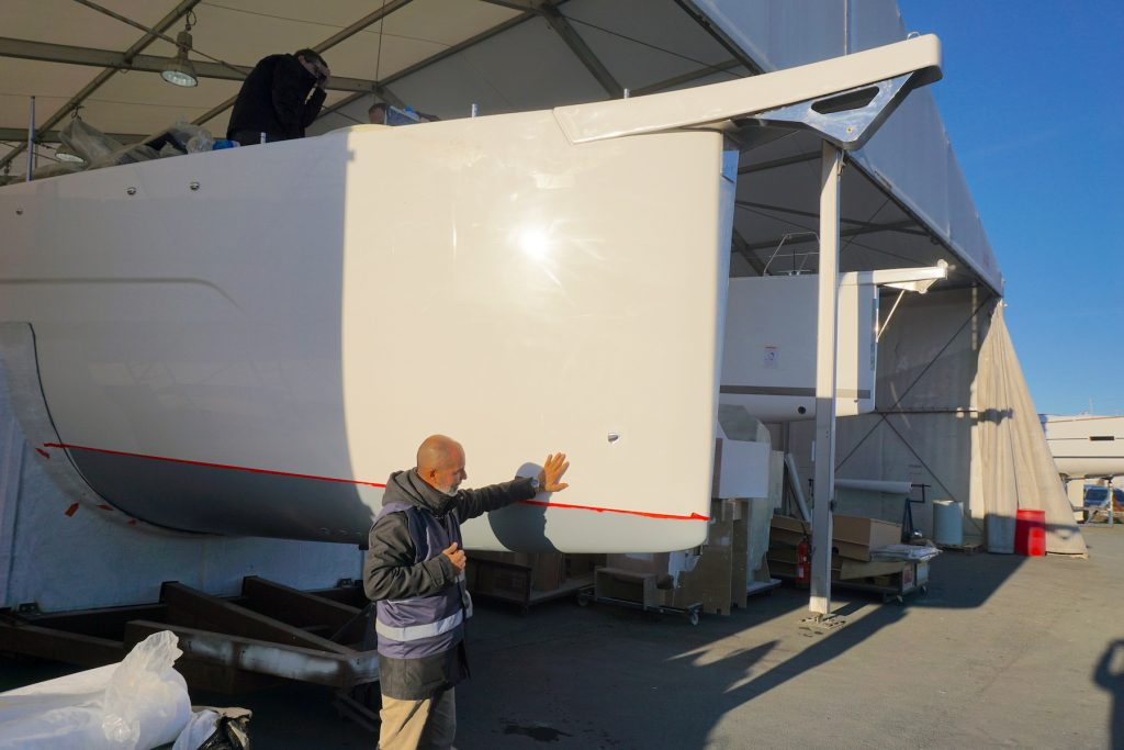 dufour yachts 63 exclusive bow