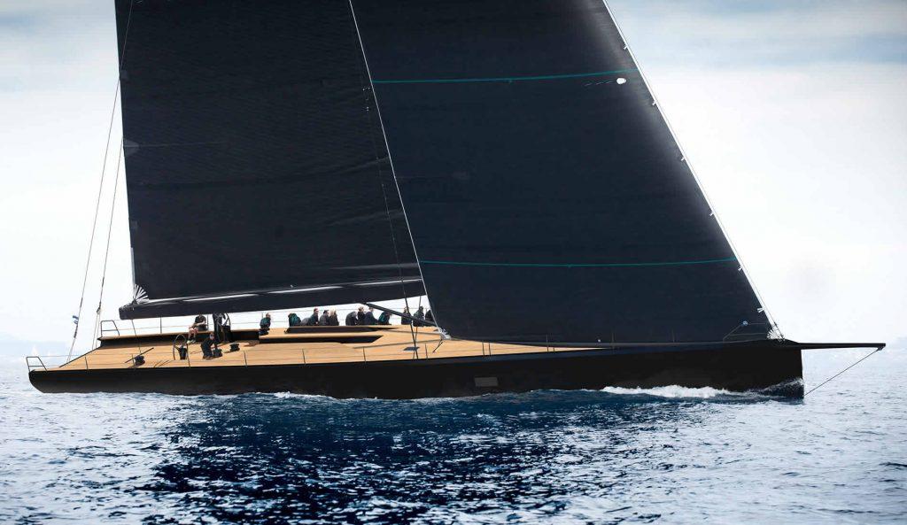 Wally 93 maxi yacht