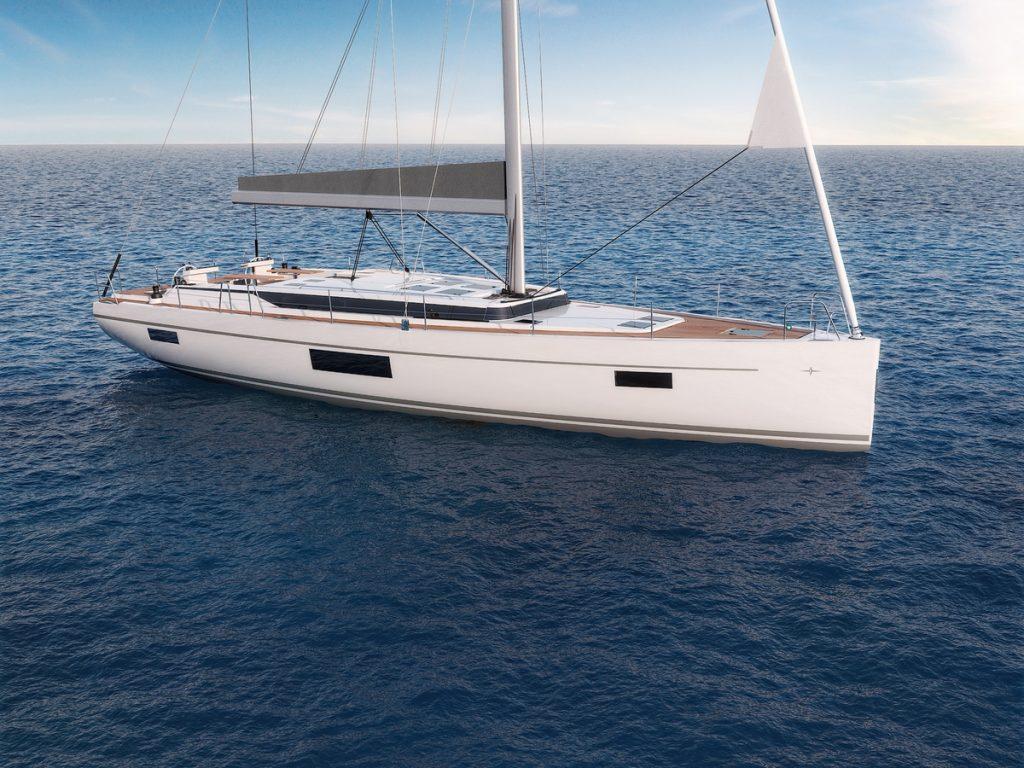 Bavaria Yachtbau C57 bow exteriors