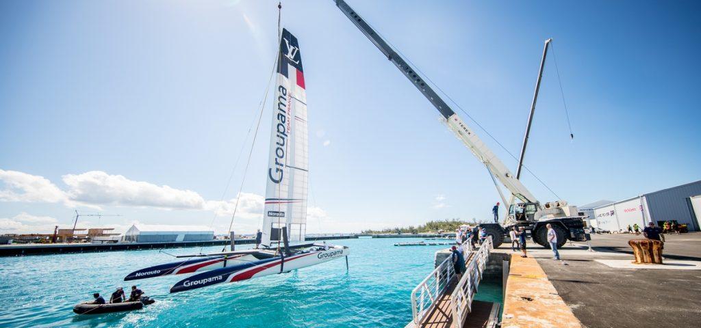 Groupama Team France asymmetric catamaran - 35th America's Cup