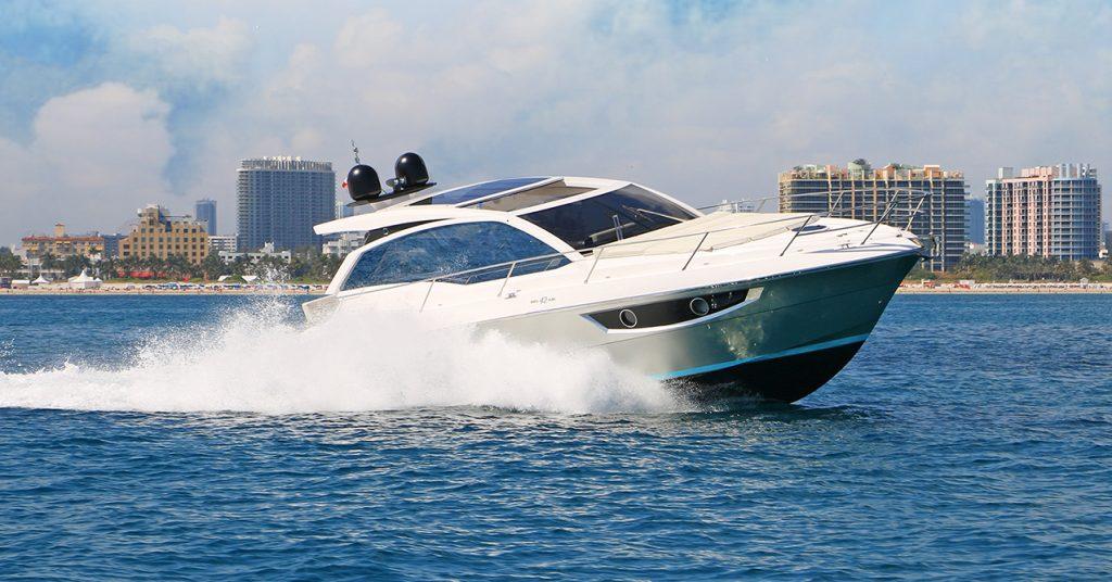 Rio Yachts 42 Air - sea trial in Miami