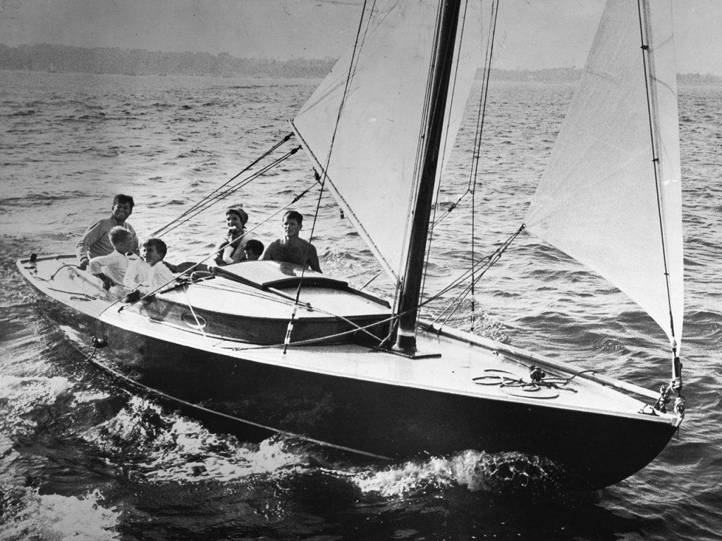 Kennedy's Victura sailboat