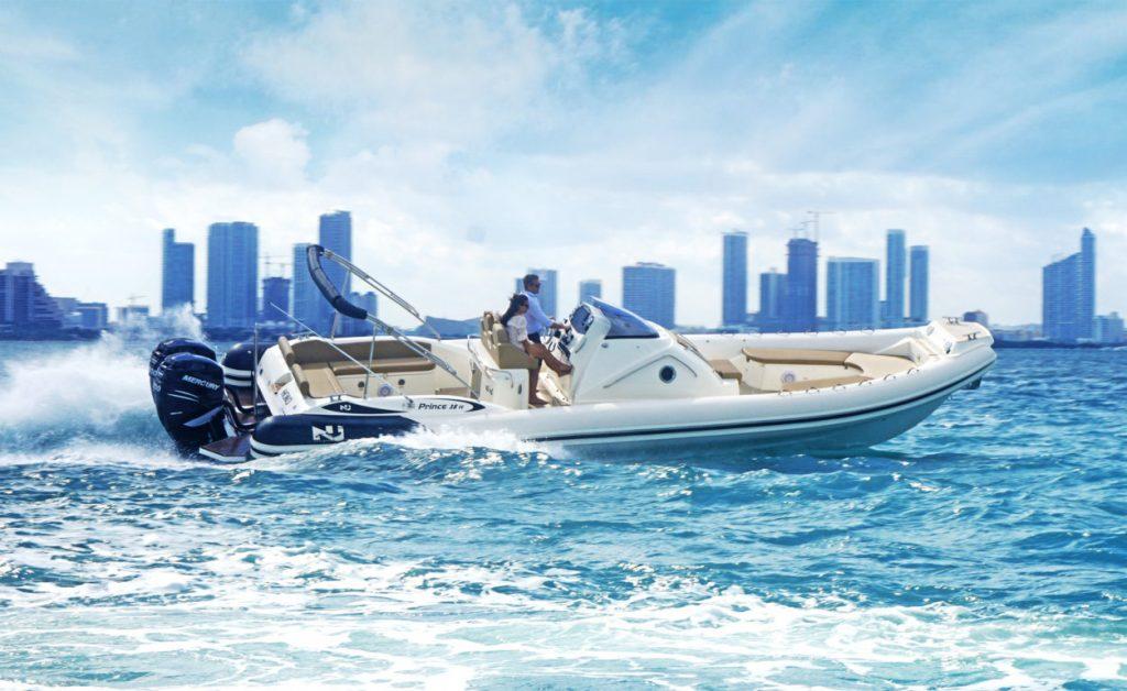 nuova jolly marine prince 38 sea trial in miami