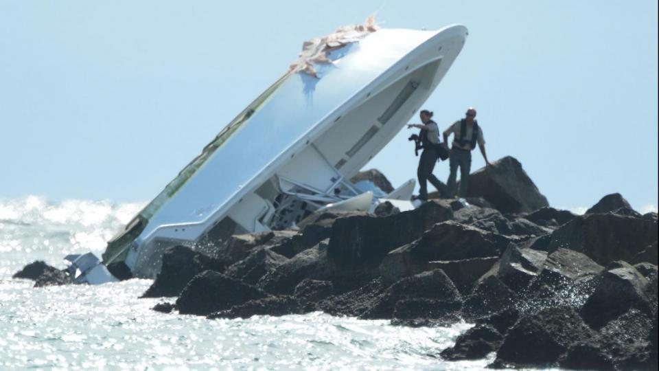 skipper responsibilities boat accidents boat against rocks