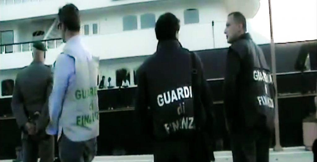 Force Blue yacht Flavio Briatore tax evasion