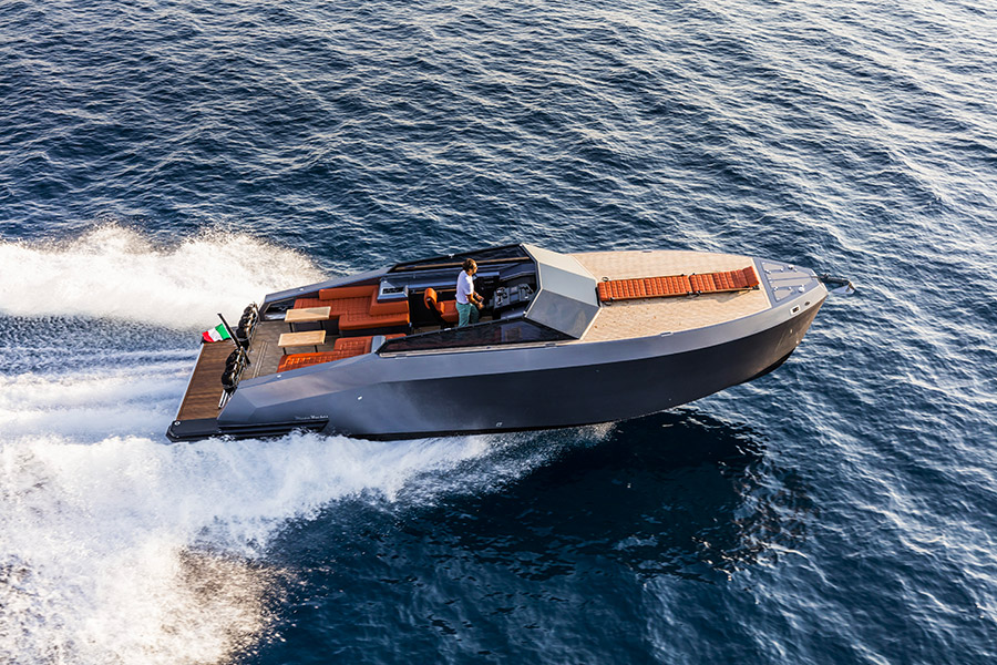 Mazu Yachts 38 open