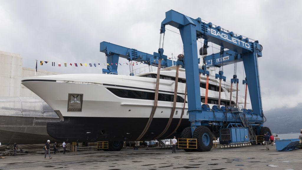Baglietto Yachts 48 metres Andiamo launch