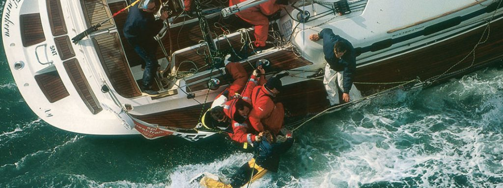 man overboard precautions