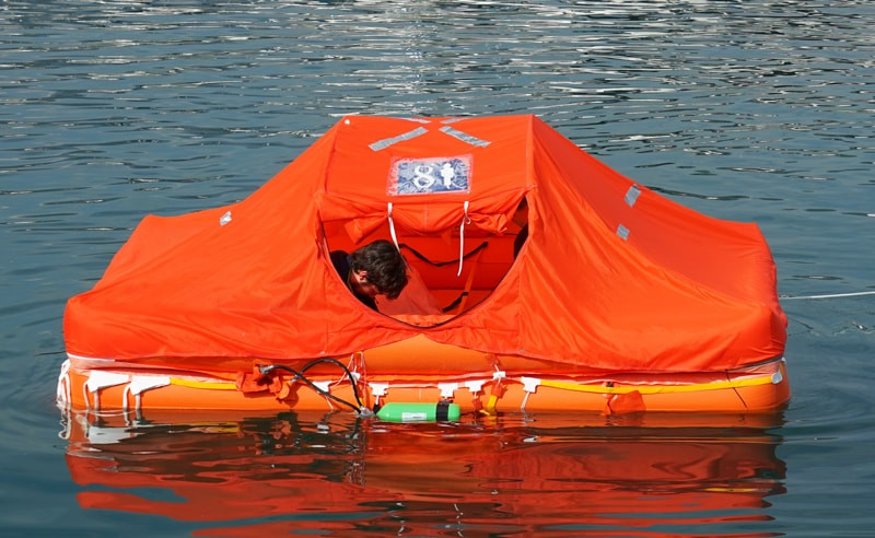 Arimar Oceanus PG life raft