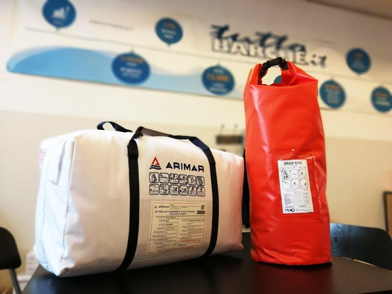 Arimar life raft standard kit