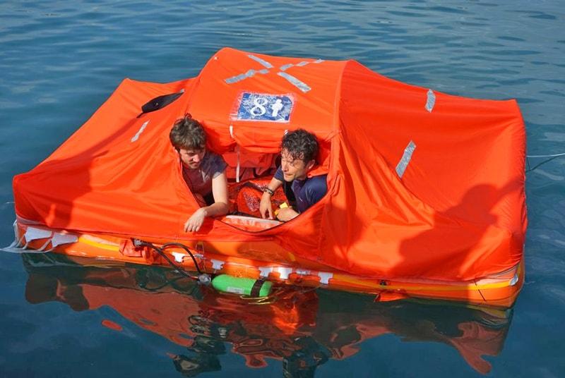 Arimar life raft test