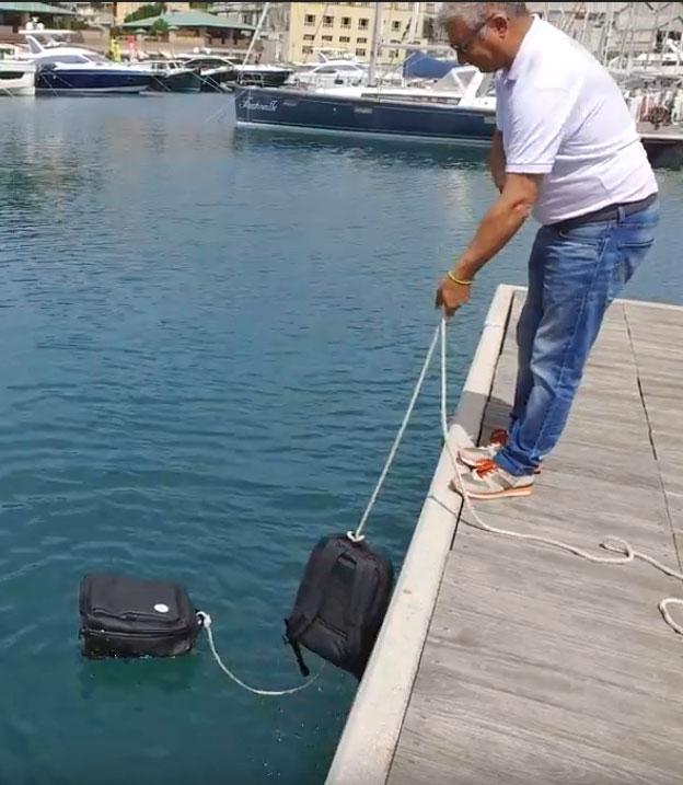 Noomi Yachting sea test