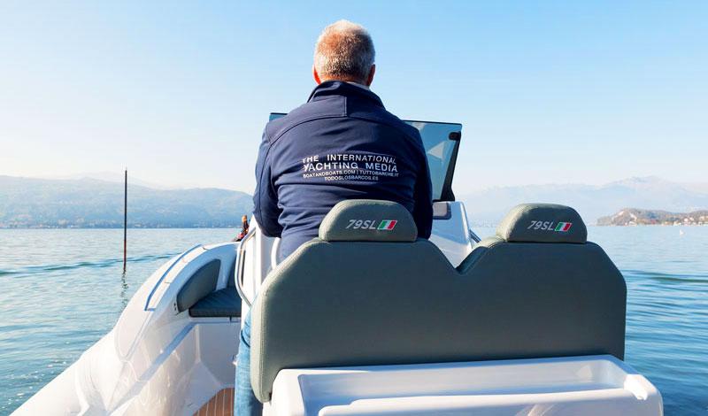 Zar 79 SL sea trial on Lake Maggiore