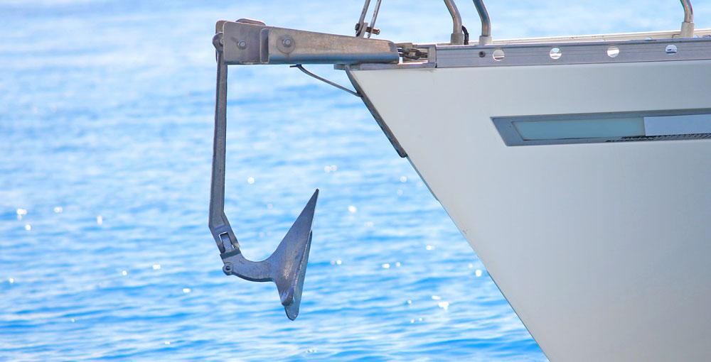 anchor on board