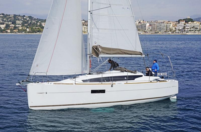 jeanneau sun odyssey-sailing