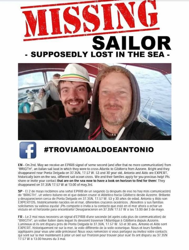 sailors missing Facebook