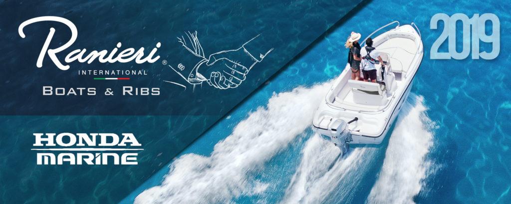 Ranieri International Honda Marine