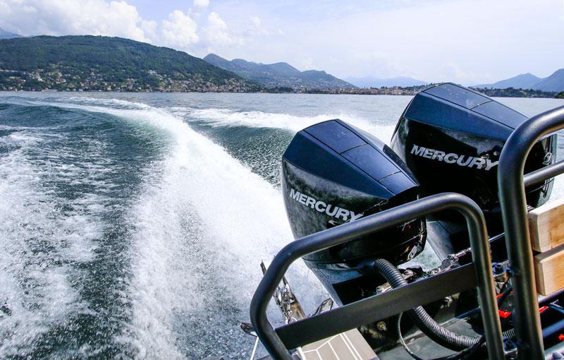 Mercury FourStroke 225 V6 engines, XO-Boats