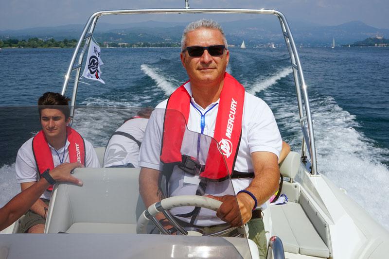 Mercury Marine Test, Luca D'Ambrosio