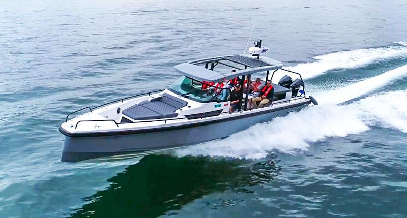 Mercury-Verado-300-V8-Axopar testing