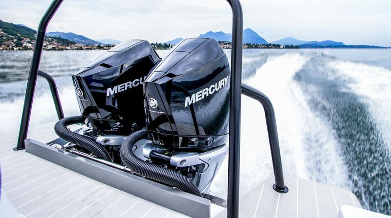 Mercury-Verado-300-V8 testing, performances