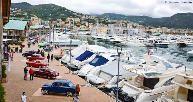 marina di varazze, classic cars contest