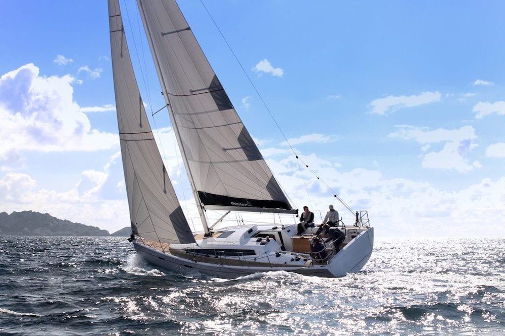 Dehler 38 C Sea Trial