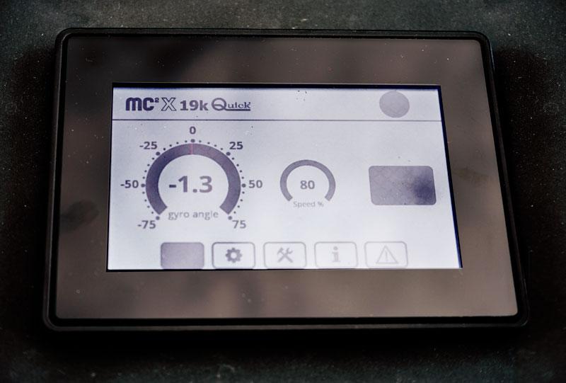 Quick MC2-X display