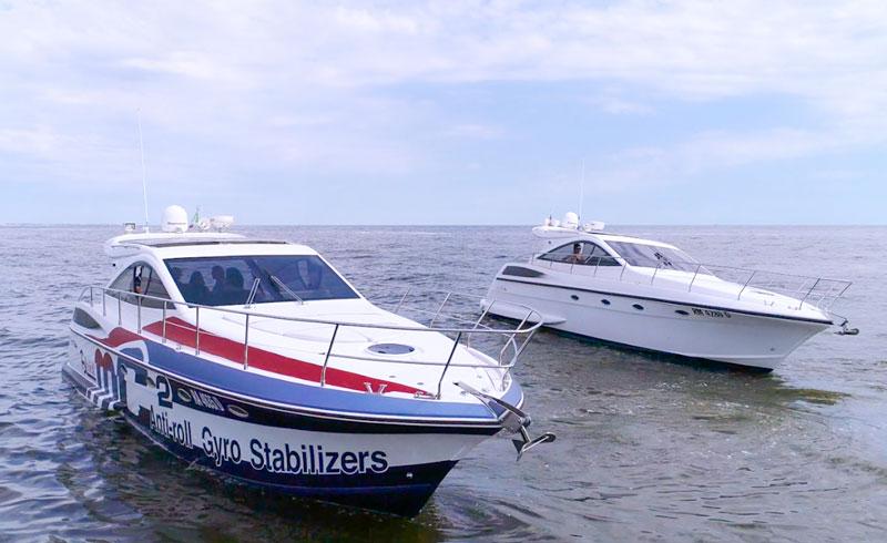 Quick-MC2-X test boat