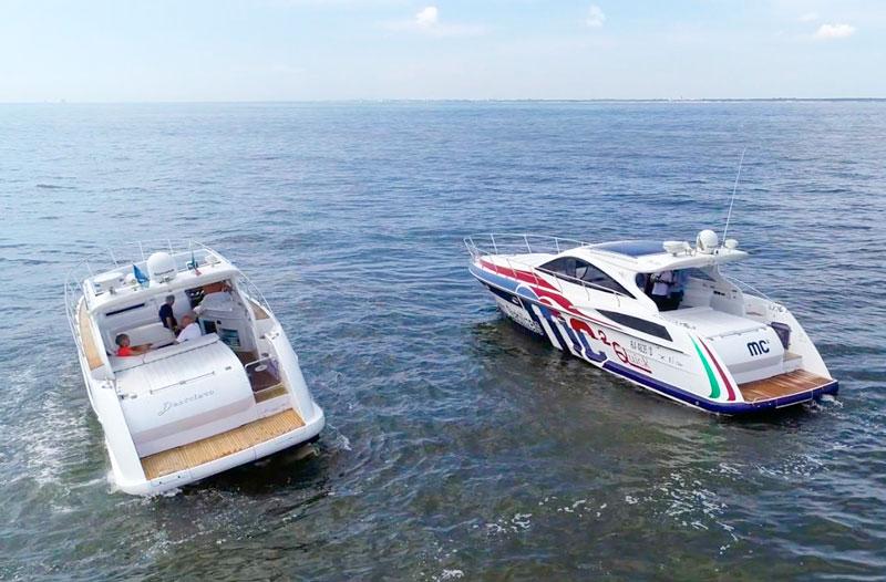 Quick MC2 X test, boats