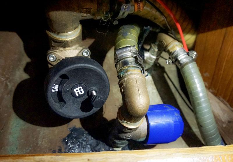 Guidi water intake valves test