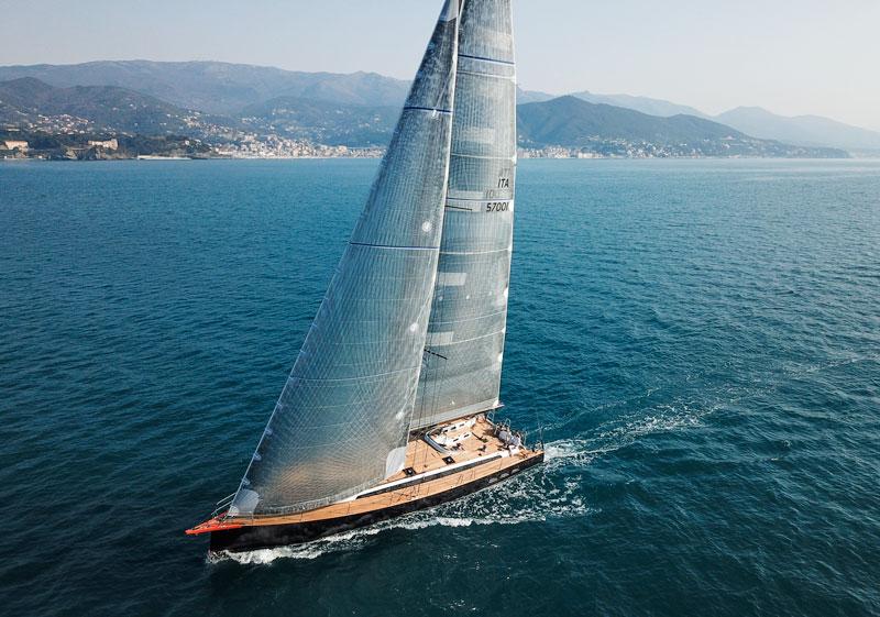 Gulliver 57 at sea