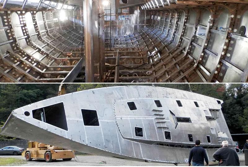 Gulliver 57 construction