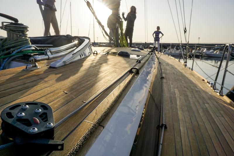 Gulliver 57, deck