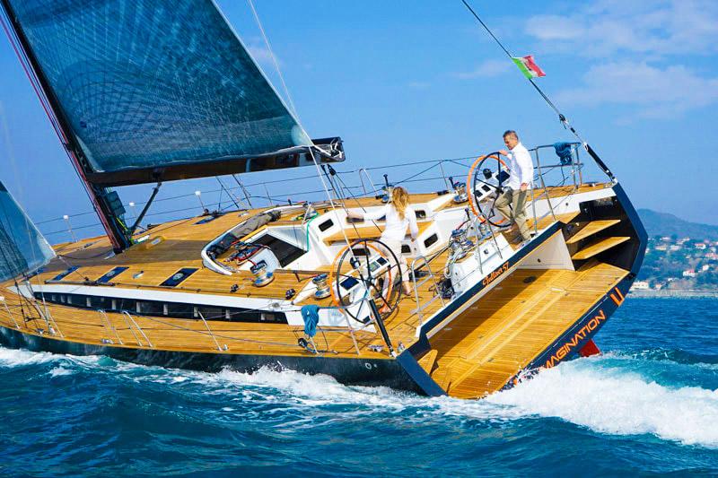 Gulliver 57 double-blade rudder