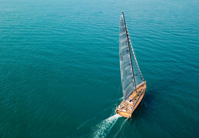 Gulliver 57 navigation at sea