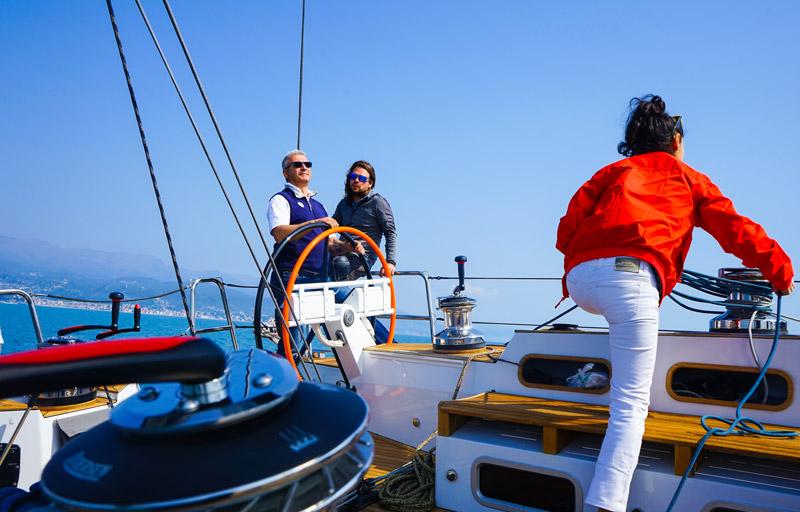 Gulliver 57 sea trial