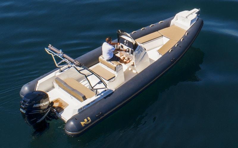 Nuova Jolly 700 XL, stern