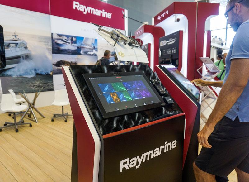 Axiom UAV Raymarine booth