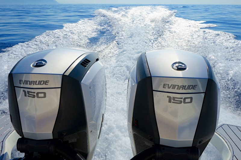 Evinrude E-TEC G2 150 HQ on test