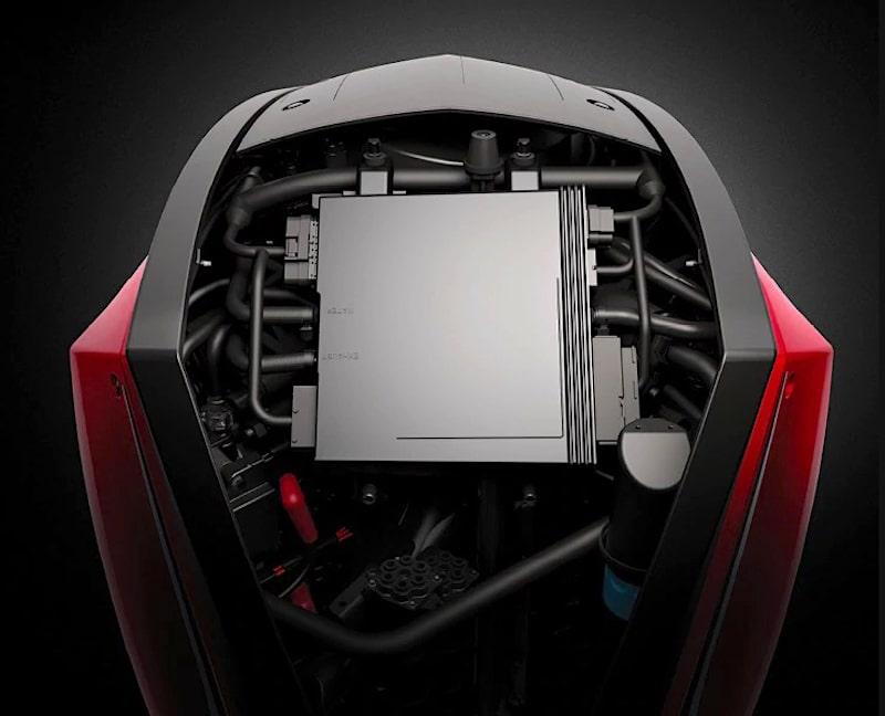 Evinrude E-Tec engine