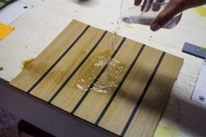 Flexiteek stain-proof solution, coffee 3