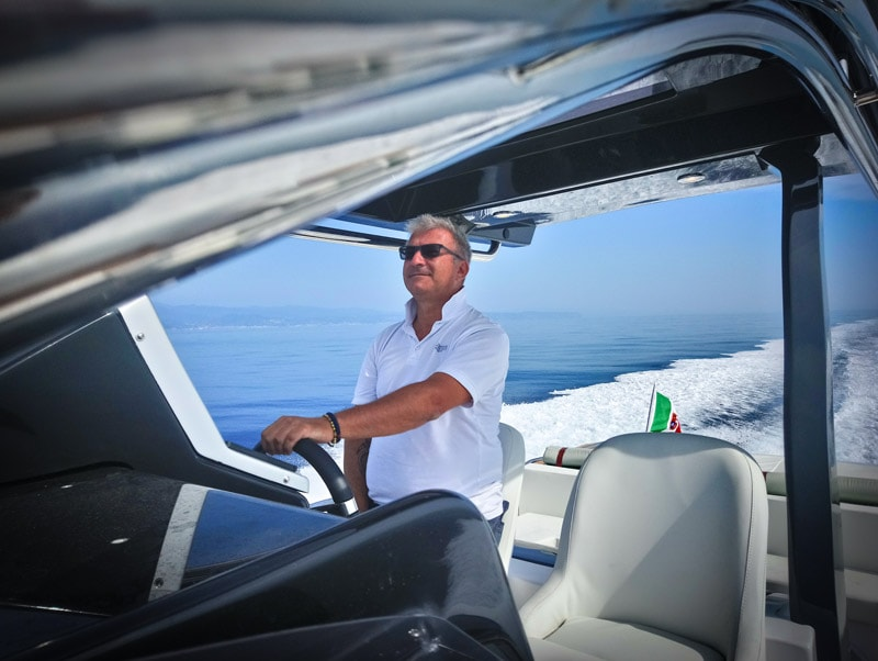 Magazzù MX 12 Gran Sport, sea trial